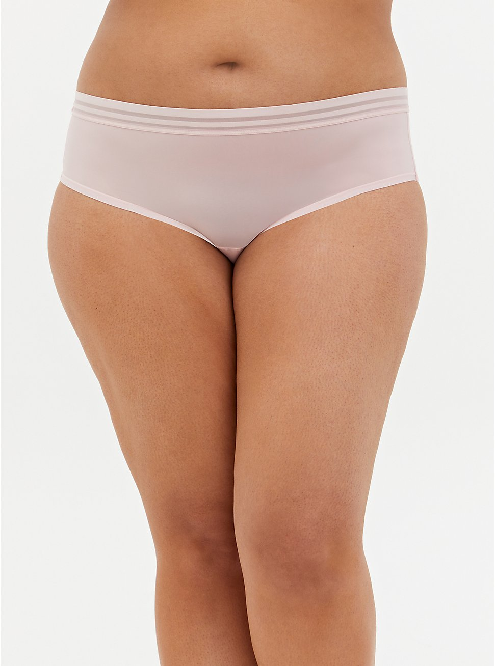 Light Pink Second Skin Hipster Panty, LOTUS PINK, hi-res