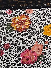 White Leopard Floral Second Skin Hipster Panty, WILD THINGS FLORAL, alternate