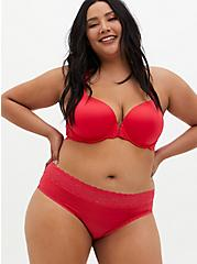 Bright Berry Second Skin Hipster Panty, TEA BERRY, alternate