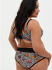 White Leopard Floral 360° Back Smoothing™ Lightly Lined Everyday Wire-Free Bra, WILD THINGS FLORAL, alternate