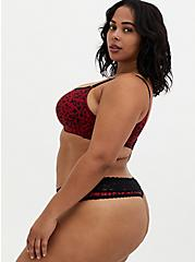 Red Heart 360° Back Smoothing™ Lightly Lined Full Coverage Balconette Bra , HEART SWIRL JESTER RED, alternate