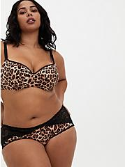 Leopard 360° Back Smoothing™ Lightly Lined Full Coverage Balconette Bra , FIFTIES LEOPARD BEIGE, alternate