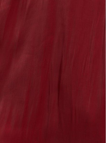 Dark Red Liquid Woven Fit & Flare Dress, BIKING RED, alternate