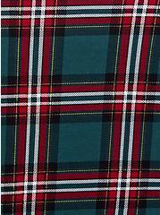 Super Soft Green & Red Plaid Sleep Cami Tunic, MULTI, alternate