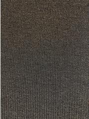Black & Gold Lurex Sleep Pant , DEEP BLACK, alternate