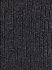 Super Soft Rib Charcoal Grey Sleep Short, CHARCOAL  GREY, alternate
