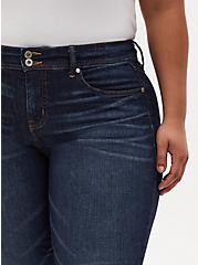 Mid Rise Flare Jean - Vintage Stretch Dark Wash, KEEP IT 100, alternate