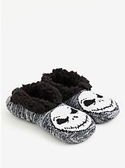 Disney The Nightmare Before Christmas Jack Slipper Socks, MULTI, alternate