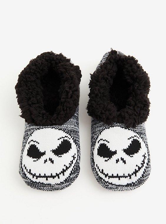 Disney The Nightmare Before Christmas Jack Slipper Socks, , hi-res