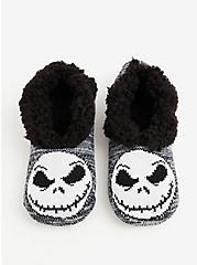 Disney The Nightmare Before Christmas Jack Slipper Socks, MULTI, hi-res