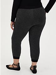 Relaxed Fit Jogger - Shimmer Black , DEEP BLACK, alternate