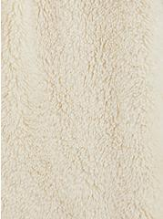 Ivory Sherpa Teddy Jacket , IVORY, alternate