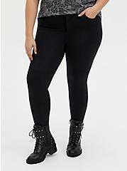 Bombshell Skinny Pant - Premium Ponte Shimmer Black , DEEP BLACK, hi-res