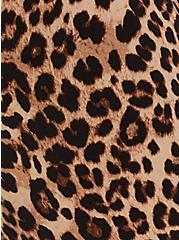 Studio Ponte Slim Fix Leopard Pull-On Pixie Pant , LEOPARD, alternate