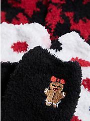 Betsey Johnson Black & Red Holiday Socks Pack - Pack of 3, , alternate