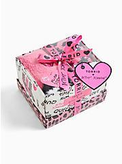 Betsey Johnson Pink & Black Socks Pack - Pack of 3, , alternate