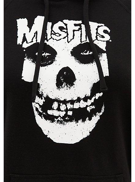 Misfits Black Fleece Hoodie, DEEP BLACK, alternate