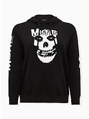 Misfits Black Fleece Hoodie, DEEP BLACK, hi-res