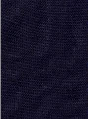Girlfriend Tee - Signature Jersey Navy, PEACOAT, alternate