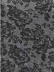 Classic Fit Tee - Roses Vintage Burnout Grey, , alternate