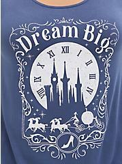 Disney Cinderella Dream Big Super Soft Vintage Indigo Tunic, VINTAGE INDIGO, alternate