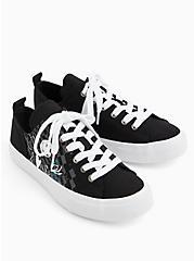 Disney The Nightmare Before Christmas Jack and Sally Canvas Sneaker (WW), BLACK, alternate