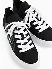 Plus Size Disney The Nightmare Before Christmas Jack and Sally Canvas Sneaker (WW), BLACK, alternate