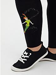 Disney Peter Pan & Tinkerbell Black Legging, BLACK, alternate