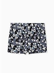 Disney Mickey Mouse Valentine Dark Grey Super Soft Sleep Short, MICKEY HEADS, hi-res