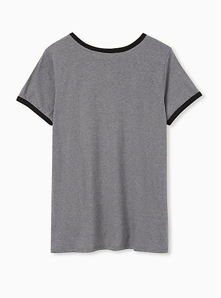 ET Classic Fit Ringer Tee - Heather Grey, MEDIUM HEATHER GREY, alternate