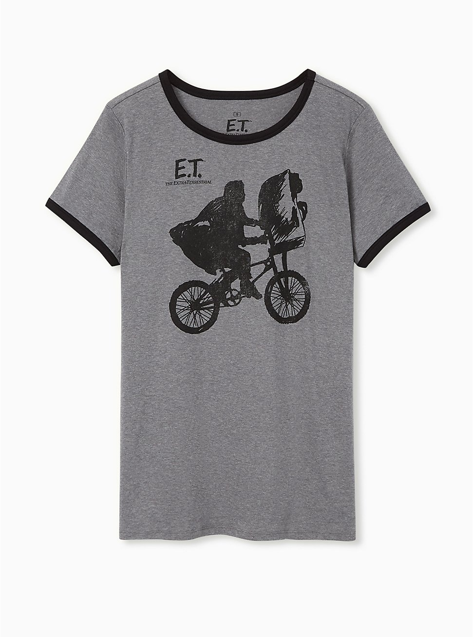 ET Classic Fit Ringer Tee - Heather Grey, MEDIUM HEATHER GREY, hi-res