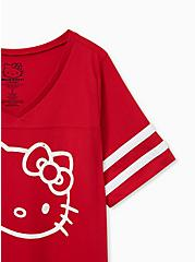 Hello Kitty Red Football Top, JESTER RED, alternate