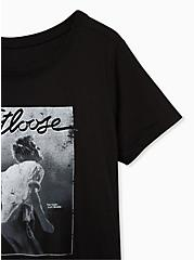 Plus Size Footloose Classic Fit Crew Tee - Black, DEEP BLACK, alternate