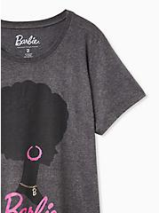 Barbie Classic Fit Crew Tee - Charcoal, CHARCOAL, alternate