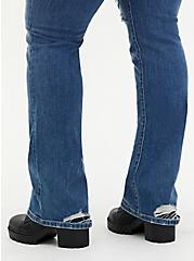 Mid Rise Slim Boot Jean - Vintage Stretch Medium Wash, CANOODLE, alternate