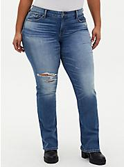 Mid Rise Slim Boot Jean - Vintage Stretch Medium Wash, CANOODLE, hi-res