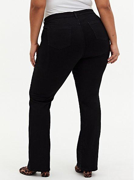 Mid Rise Slim Boot Jean - Super Soft Black, DEEP BLACK, alternate