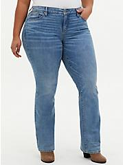 Mid Rise Slim Boot Jean - Vintage Stretch Light Wash, SARDEGNA, hi-res
