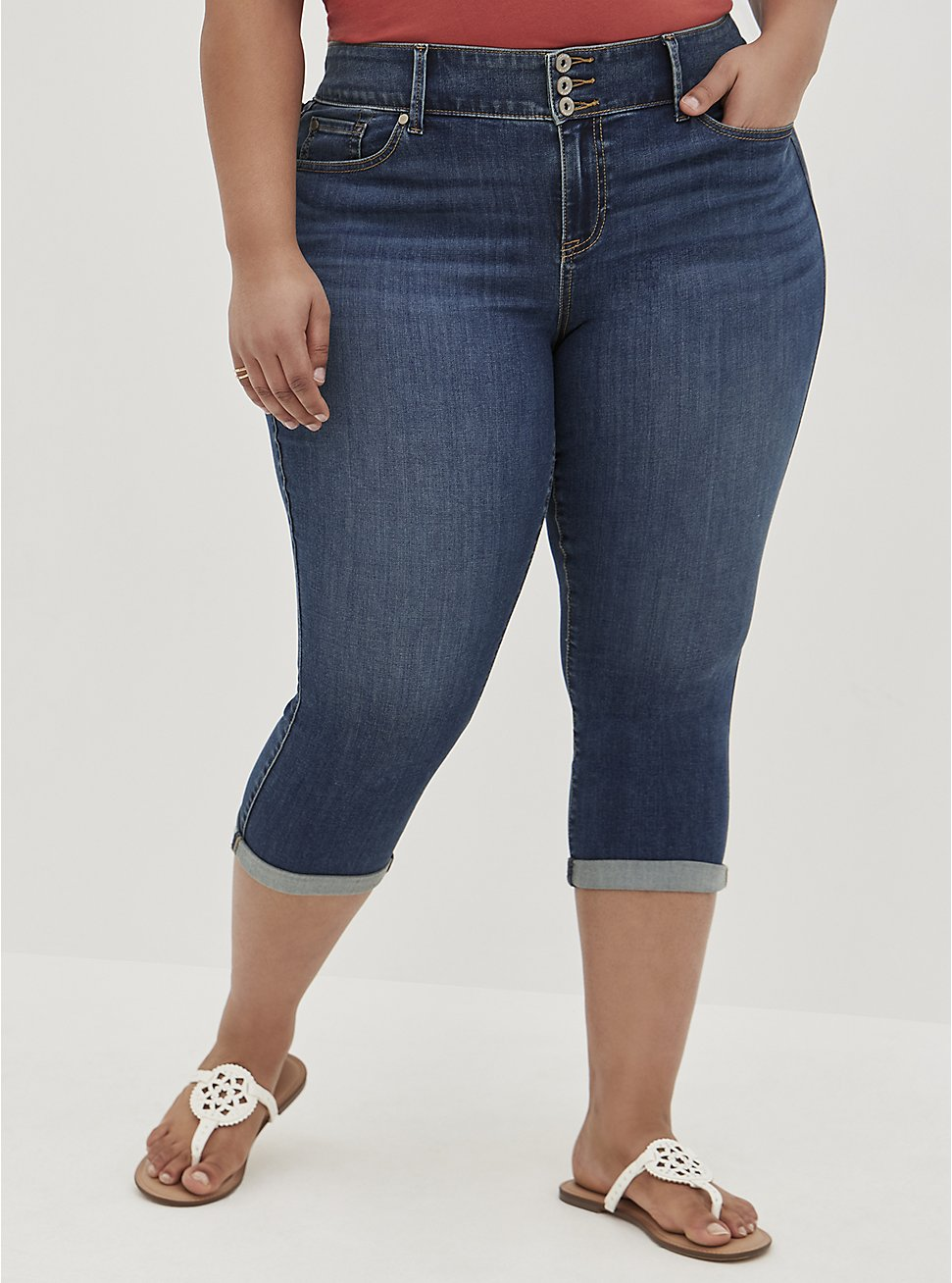 Crop Jegging - Super Soft Medium Wash, BLUE GROTTO, hi-res