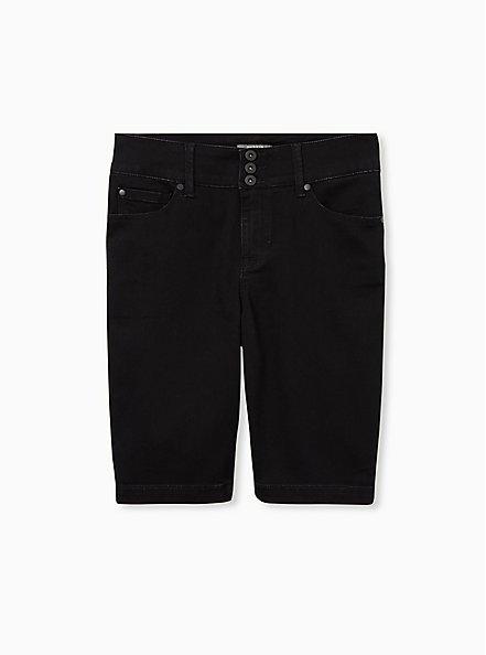 Jegging Bermuda Short - Super Soft Black, DEEP BLACK, hi-res
