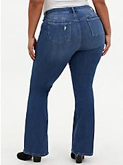 Bombshell Flare Jean - Premium Stretch Eco Medium Wash, WESTCHESTER, alternate