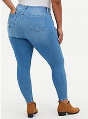 Sky High Skinny Jean - Premium Stretch Light Wash , BEVERLY HILLS, alternate