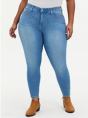 Sky High Skinny Jean - Premium Stretch Light Wash , BEVERLY HILLS, hi-res