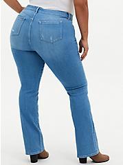 Mid Rise Slim Boot Jean - Premium Stretch Light Wash, BEVERLY HILLS, alternate