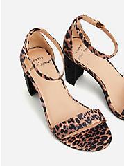 Betsey Johnson Leopard Glitter Tapered Heel (WW), ANIMAL, alternate