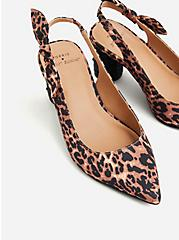 Betsey Johnson Leopard Pointed Toe Cylinder Heel (WW), ANIMAL, alternate