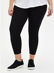 Disney Mulan Black Crop Legging, BLACK, alternate