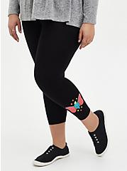 Disney Dumbo Crop Black Legging, BLACK, hi-res