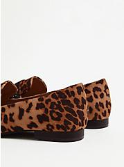 Leopard Faux Suede Embellished Band Loafer (WW), ANIMAL, alternate