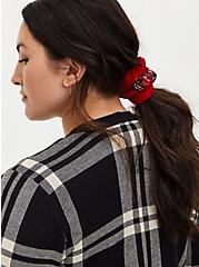 Holiday Red & Plaid Hair Tie Pack - Pack Of 5, , hi-res